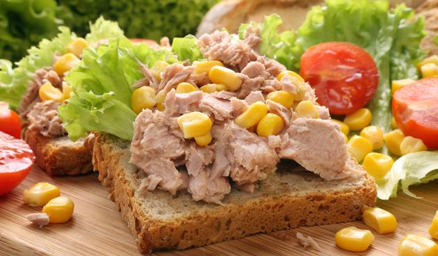 Boterham tonijn